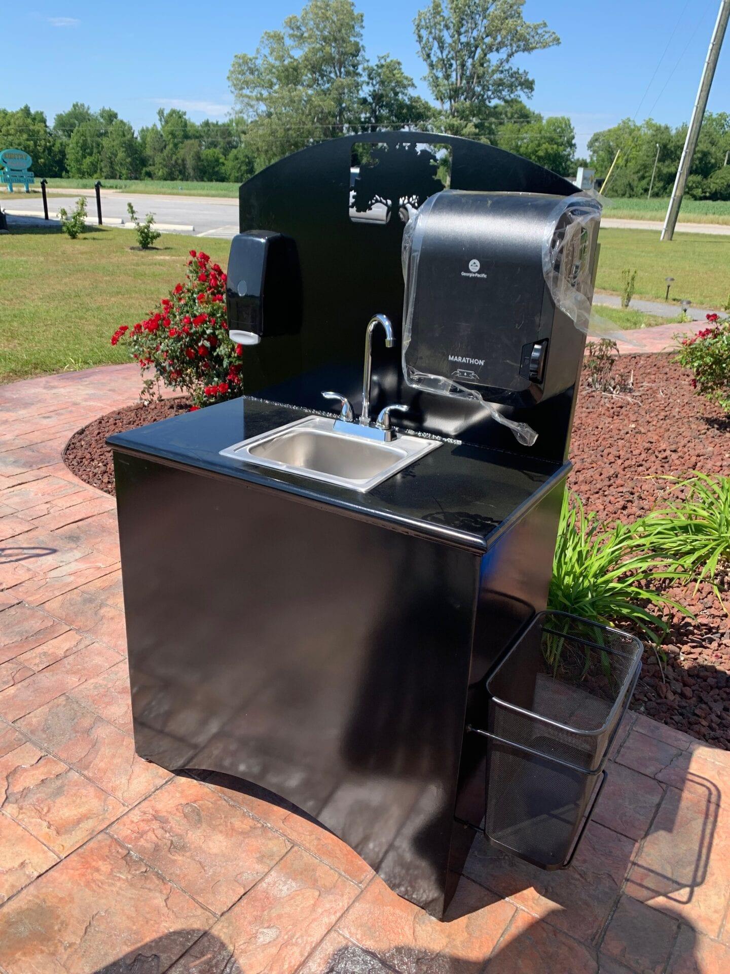 Outdoor Hand Wash sink